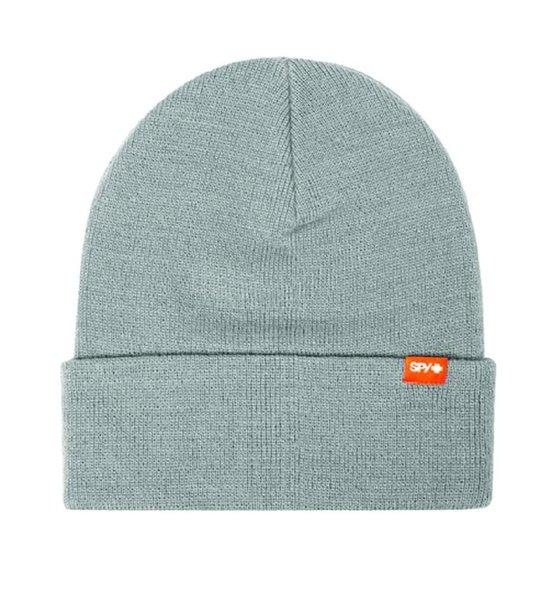 SPY Zimná čiapka - jednofarebná svetlo sivá