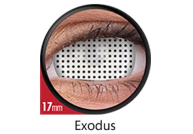 ColourVue Crazy šošovky 17 mm - Exodus (2 ks ročné) - nedioptrické - exp.02/2021