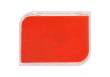 Puzdro na tvrdé šošovky zostava - Červené