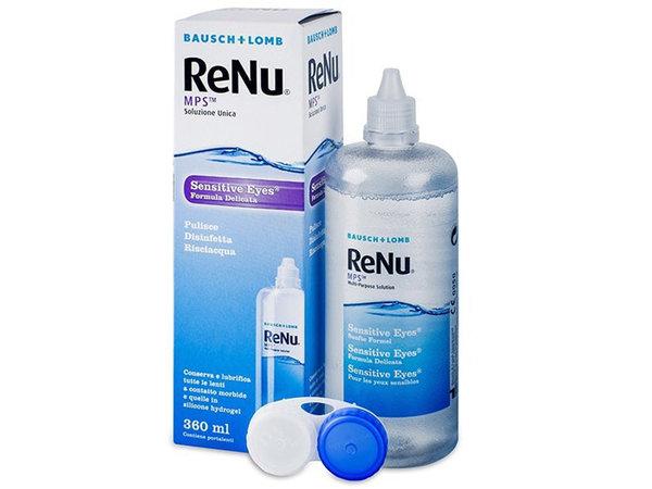 ReNu MPS Sensitive Eyes 360 ml s púzdrom - exp.02/21