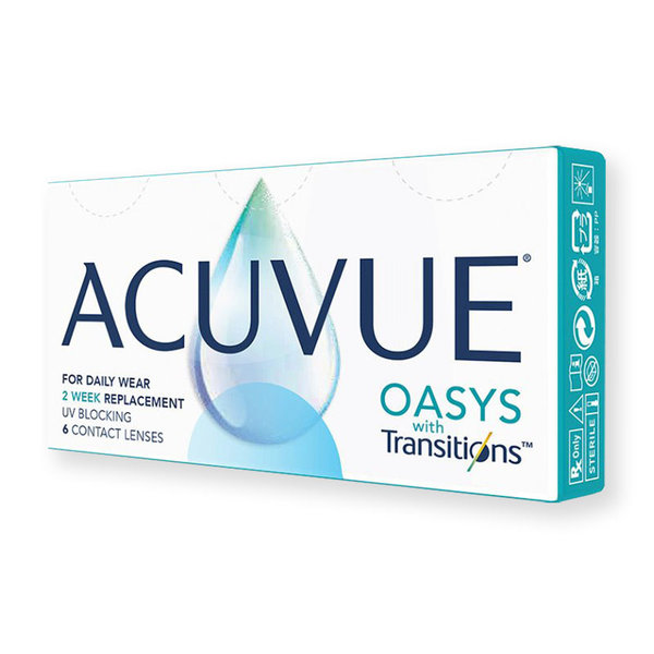 Acuvue Oasys with Transitions (6 šošoviek)