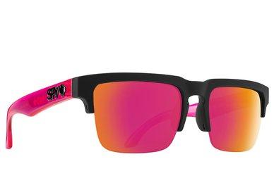 Slnečné okuliare SPY HELM 5050 Black/Pink - Pink spectra