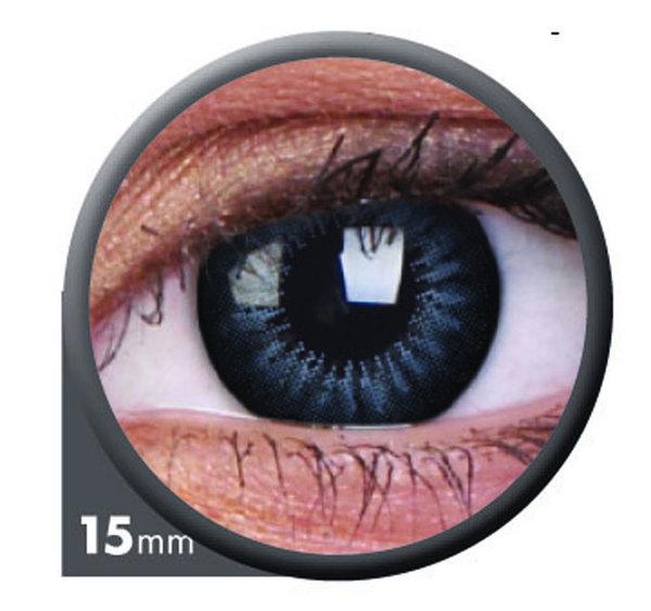 ColourVue Big Eyes - Evening Gray (2 šošovky trojmesačné) - dioptrické - exp.07/2021