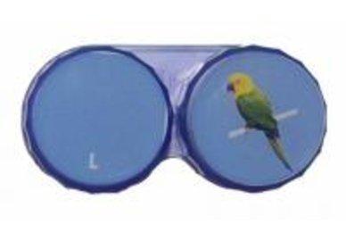 Ozdobné púzdro jednoobrázkové - Papagáj