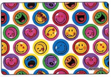 Handričku na okuliare z mikrovlákna Smiley - Smiley biele