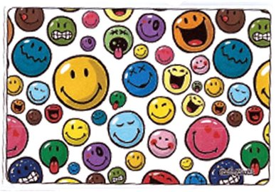 Handričku na okuliare z mikrovlákna Smiley - Smiley veľké