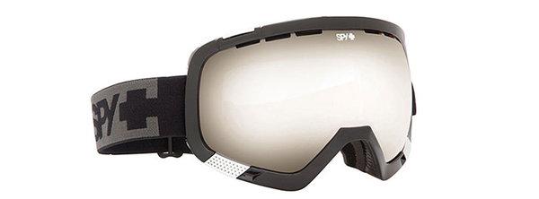 SPY Lyžiarske okuliare PLATOON - Black / Silver Mirror