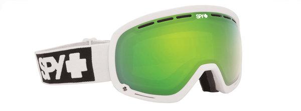 SPY Lyžiarske okuliare MARSHALL - Matte White / Green