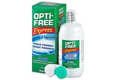 Opti-Free Express 355 ml s púzdrom - poškodený obal