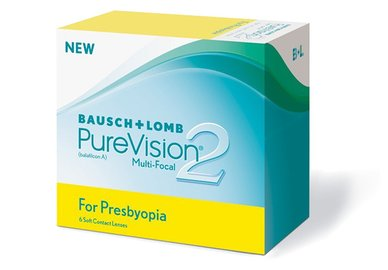 PureVision 2 for Presbyopia (6 šošoviek)