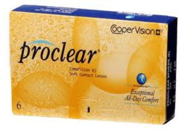 Proclear (6 šošoviek) - poškodený obal