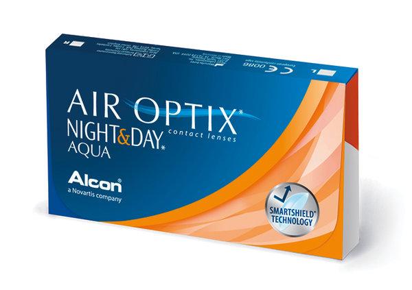 Air Optix Night & Day Aqua (6 šošoviek)