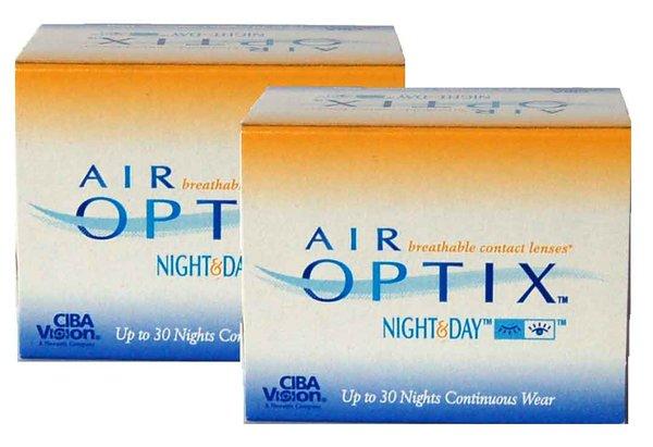 Air Optix Night & Day (6 šošoviek) - exp.11/2015