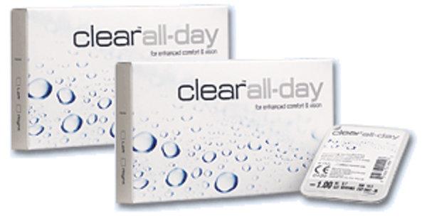 Clear all Day (6 šošoviek) Výpredaj Expirácie!!