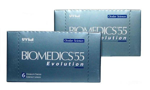Biomedics 55 Evolution (6 šošoviek) Dopredaj skladu!!!