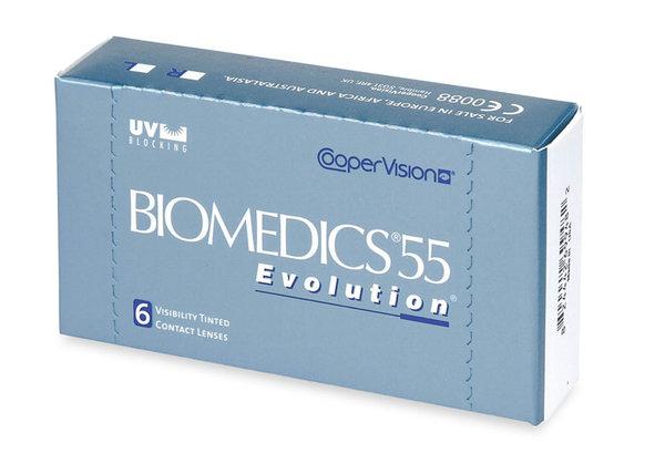Biomedics 55 Evolution (6 šošoviek) - exp.11/2016