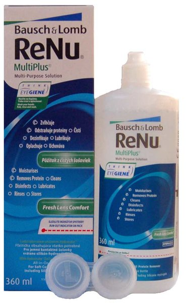 ReNu MultiPlus 360 ml s púzdrom - poškodený obal
