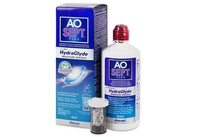 AOSEPT Plus HydraGlyde 360 ml s púzdrom
