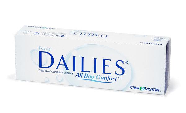Dailies All Day Comfort (30 šošoviek)