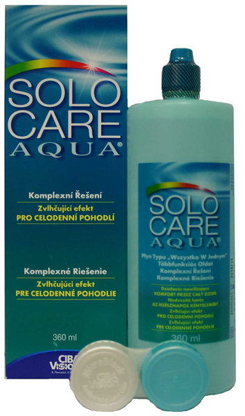 SoloCare Aqua 360 ml s púzdrom - exp.08/2016