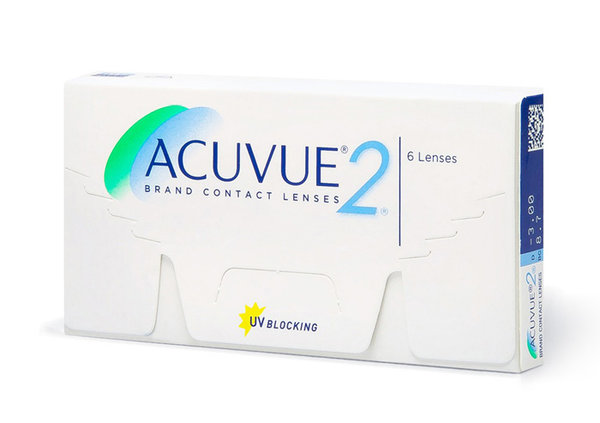 Acuvue 2 (6 šošoviek) - výpredaj 2019