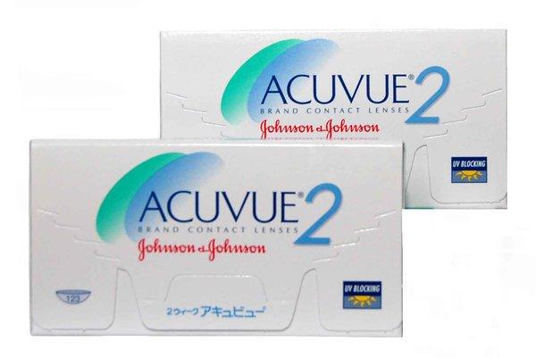 Acuvue 2 (6 šošoviek) - výpredaj exp. 2016