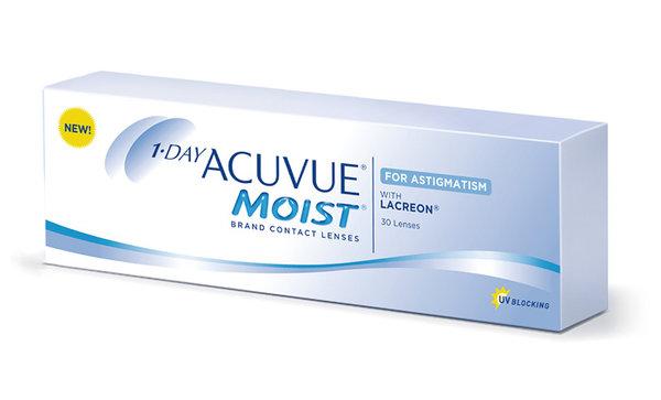 1 Day Acuvue Moist for Astigmatism (30 šošoviek) - výpredaj skladu