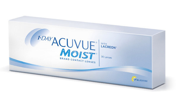 1-Day Acuvue Moist (30 šošoviek) - exp.07/2020