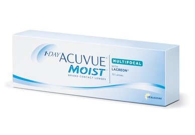 1-Day Acuvue Moist Multifocal (30 šošoviek)