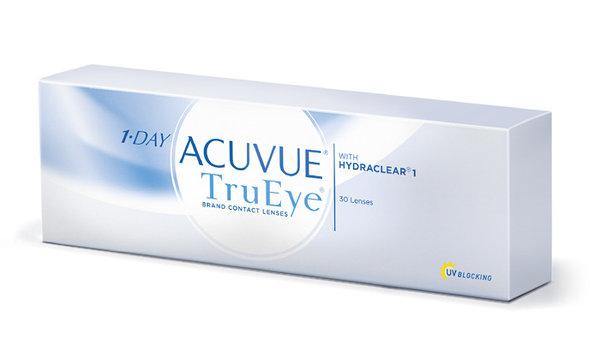 1-Day Acuvue TruEye (30 šošoviek) - exp.2021