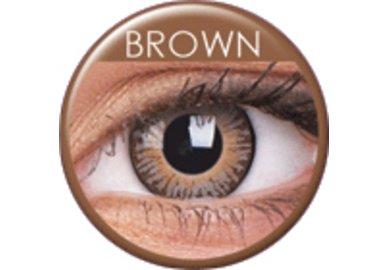 ColourVue 3 Tones - Brown (2 šošovky trojmesačné) - dioptrické exp.10/2021