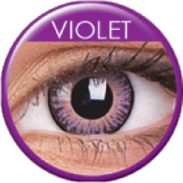 ColourVue 3 Tones - Violet (2 šošovky trojmesačné) - dioptrické - výpredaj exp.06/2020