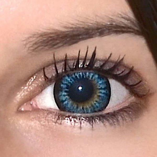 37a60870f ColourVue Big Eyes - Cool Blue (2 šošovky trojmesačné) - dioptrické ...