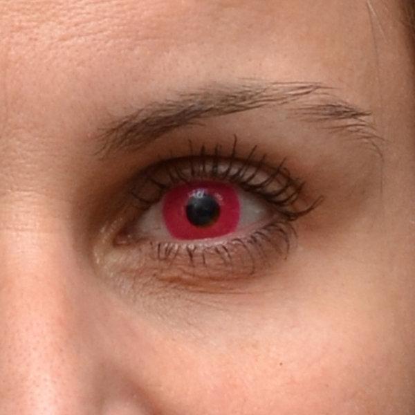 64d069f4f ... ColourVue Crazy šošovky UV svietiace - Glow Pink (2 ks ročné) -  nedioptrické
