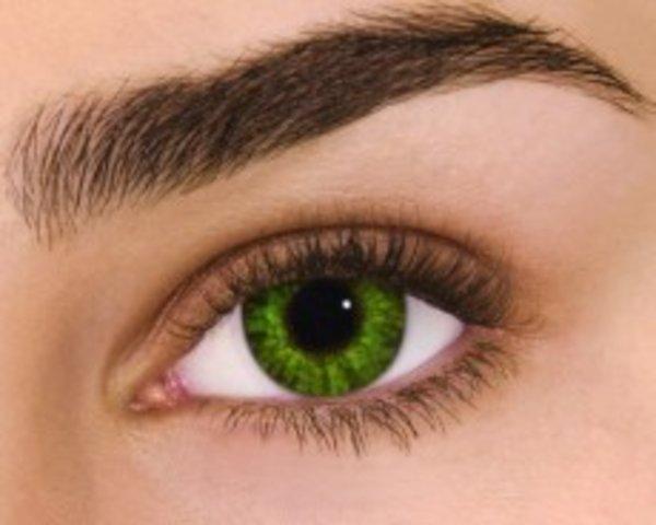 Air Optix Colors - Gremstone Green (2 šošovky mesačné) - dioptrické - výpredaj skladu