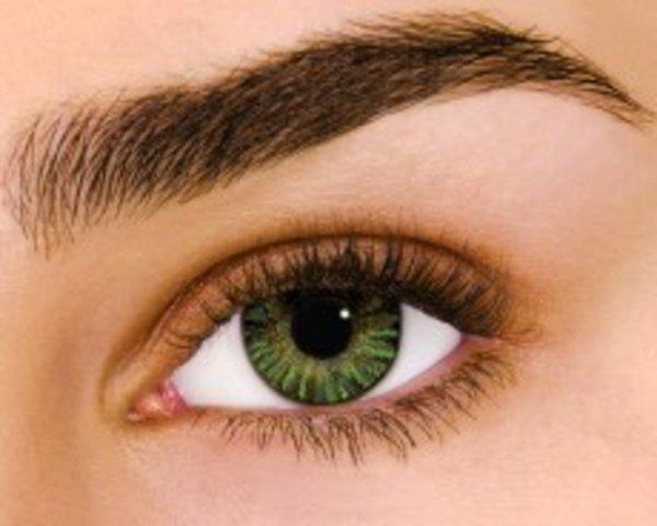 Air Optix Colors - Green (2 šošovky mesačné) - dioptrické - výpredaj