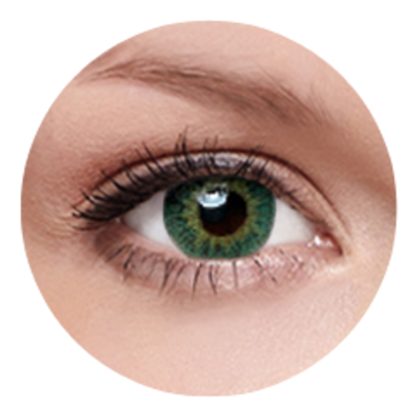 FreshKon - Groovy Green (2 šošovky mesačné) - dioptrické