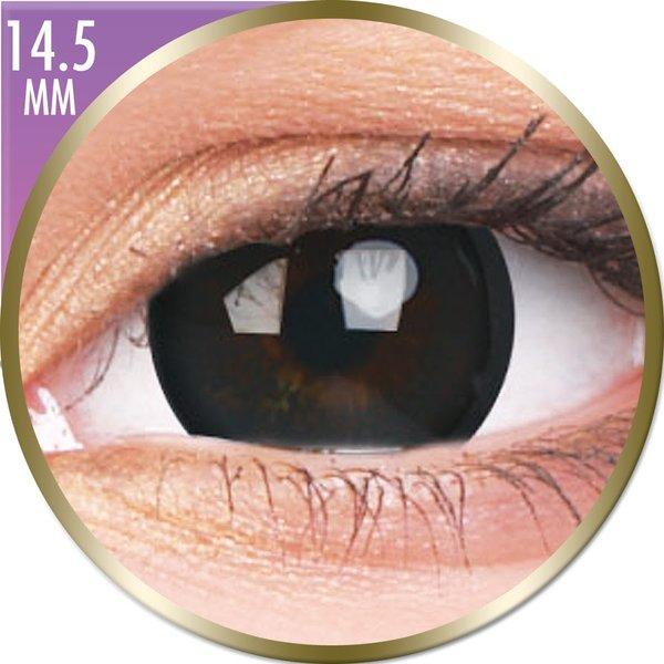Phantasee Big Eyes - Brilliant Black (2 šošovky mesačné) - dioptrické