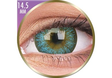 Phantasee Big Eyes - Maya Blue (2 šošovky mesačné) - dioptrické - dopredaj