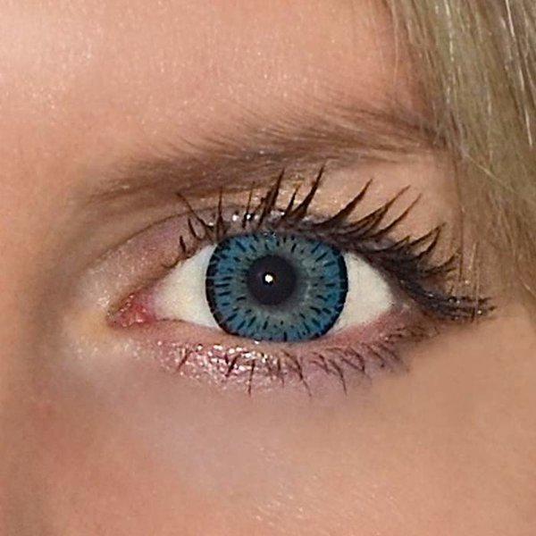 affd1e235 ColourVue Elegance - Blue (2 šošovky trojmesačné) - dioptrické ...