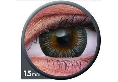 ColourVue Big Eyes - Enchanter Grey (2 šošovky trojmesačné) - dioptrické