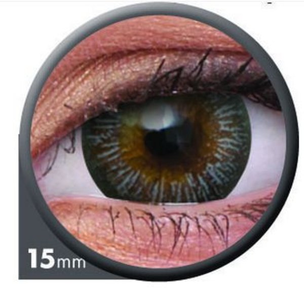 ColourVue Big Eyes - Enchanter Grey (2 šošovky trojmesačné) - diopt.-6,00 exp.12/2020