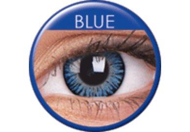 ColourVue 3 Tones - Blue (2 šošovky trojmesačné) - nedioptrické