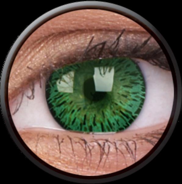 ColourVue Elegance - Green (2 šošovkytrojmesačné) - nedioptrické - exp.08/2020