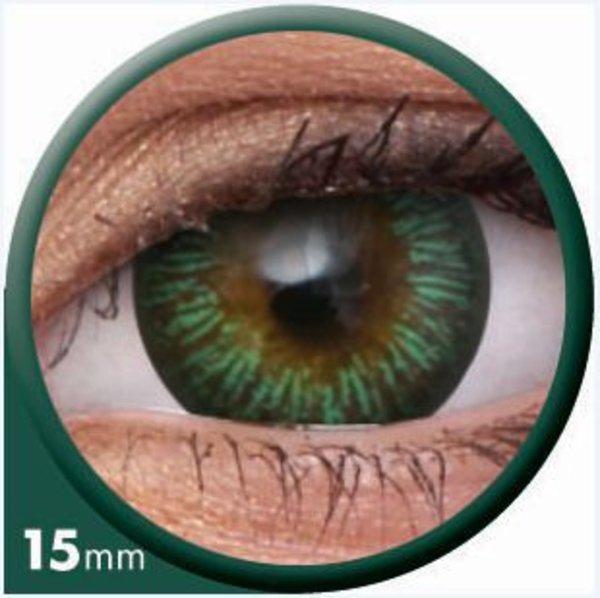 ColourVue Big Eyes - Enchanter Green (2 šošovky trojmesačné) - nedioptrické