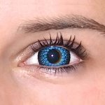 ColourVue Eyelush - Blue (2 šošovky trojmesačné) - nedioptrické