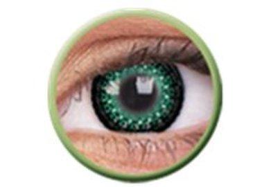 ColourVue Eyelush - Green (2 šošovky trojmesačné) - nedioptrické - výpredaj. Exp2020