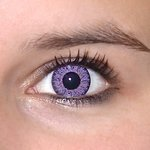 ColourVue Glamour - Violet (2 šošovky trojmesačné) - nedioptrické