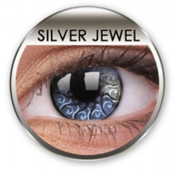 Jewel - Silver Jewel (2 trojmesačné šošovky)