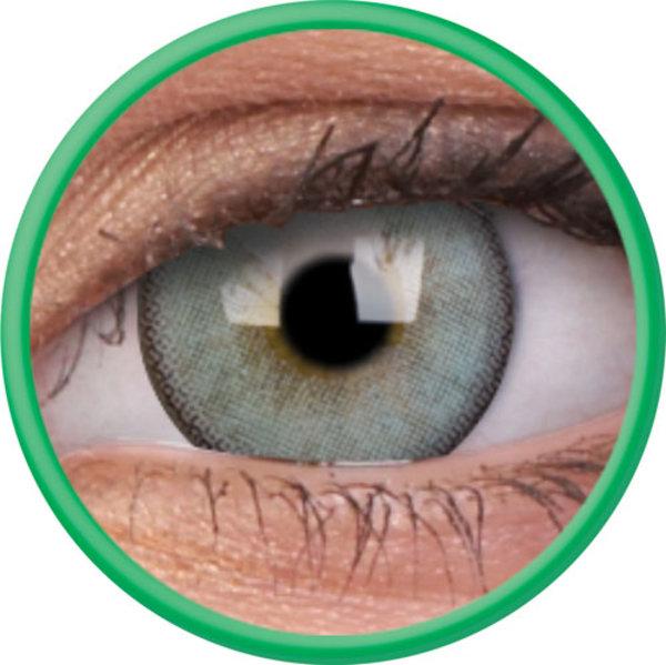 ColourVue Lumina - Gleaming Green (2 šošovky trojmesačné s puzdrem) - nedioptrické-dopredaj; výroba ukončená